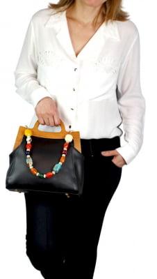 Kit Bolsa Feminina De Luxo 2 Peças
